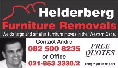 Helderberg Furniture Removals