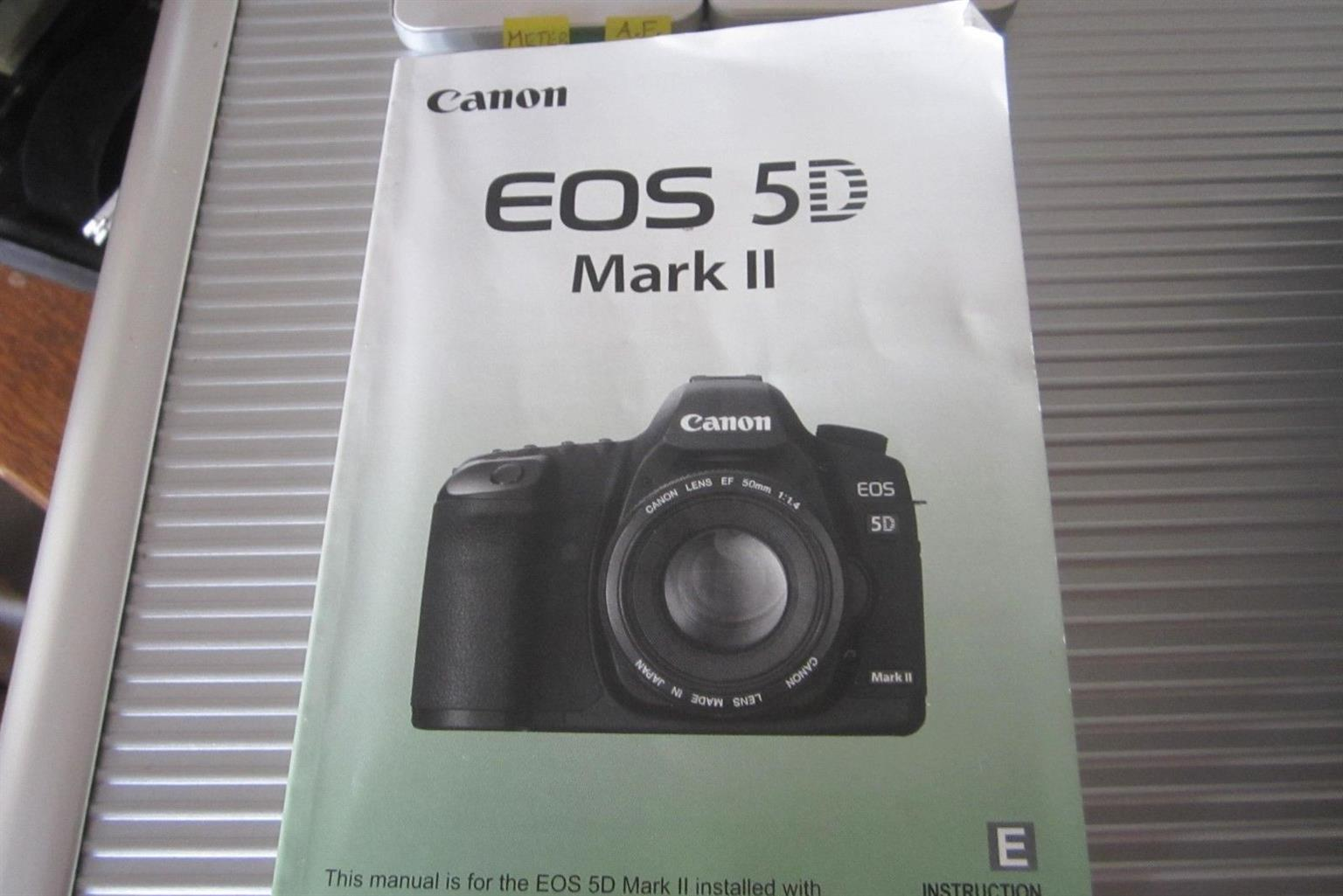 Canon Eos 5d Mark Ii 211mp Digital Slr Camera W Cannon Lens Ef24 Parts Diagram Where To Get For A Nikon D5000
