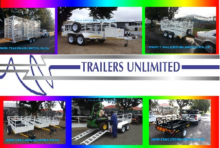 TRAILERS UNLIMITED. UTILITY TRAILERS FROM R9500