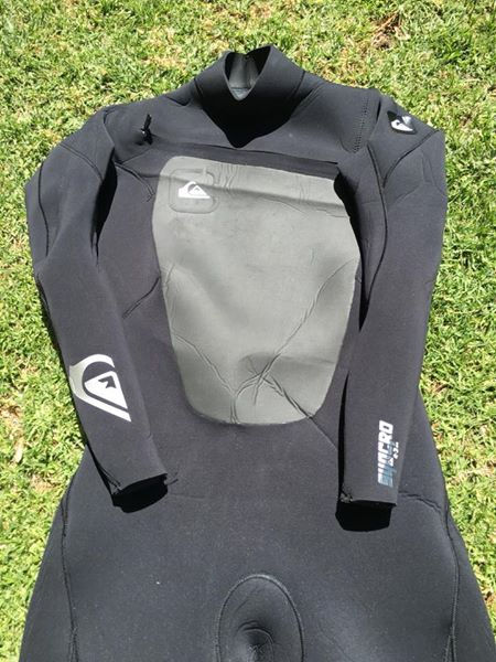 Quiksilver syncro 4,3mm wetsuit: size is XL