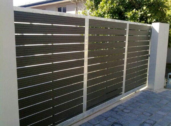 PALISADE STEEL FENCING |POLYPLANKS| NUTEC GATES