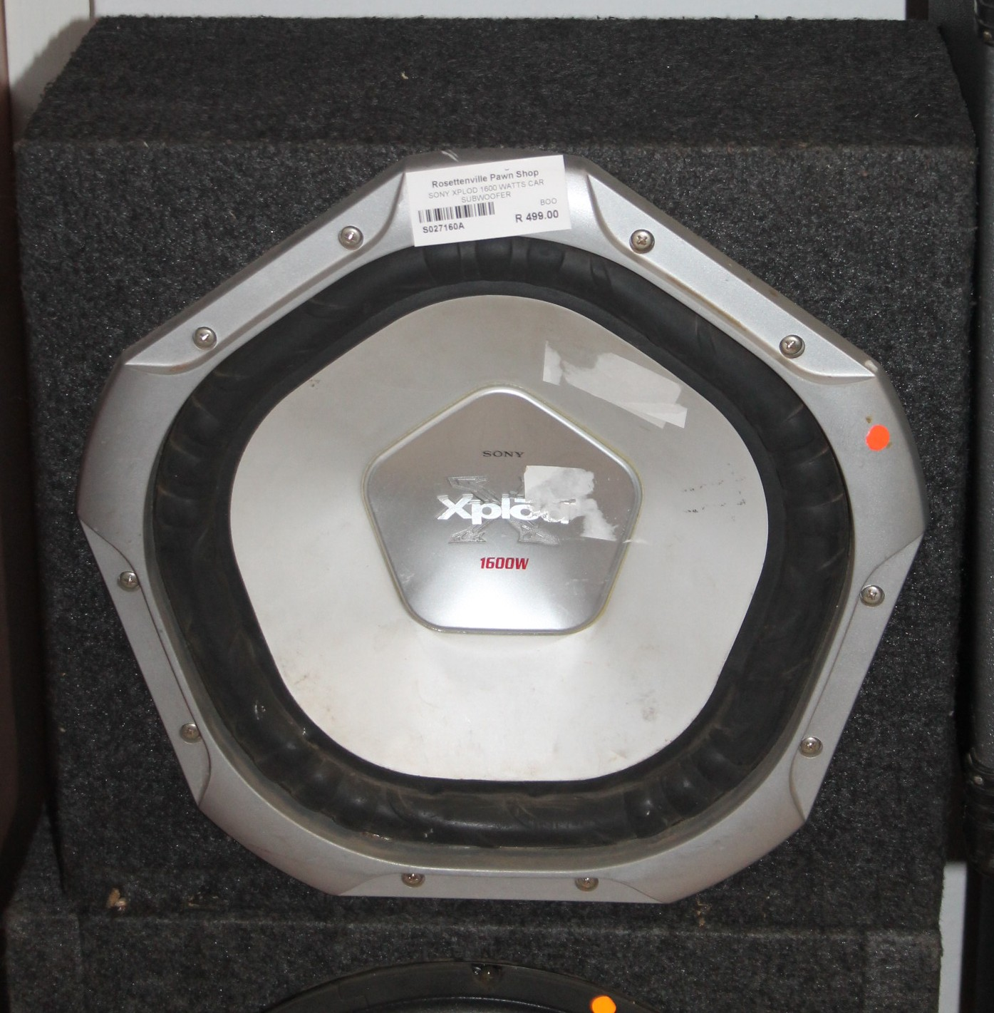 Sony Xplod subwoover S027160a #Rosettenvillepawnshop
