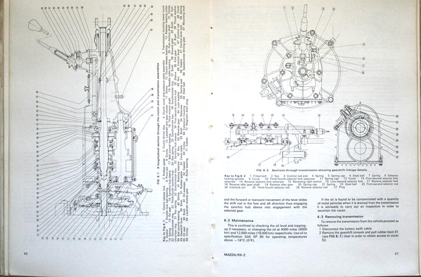 MAZDA RX-2  OWNERS WORKSHOP MANUAL