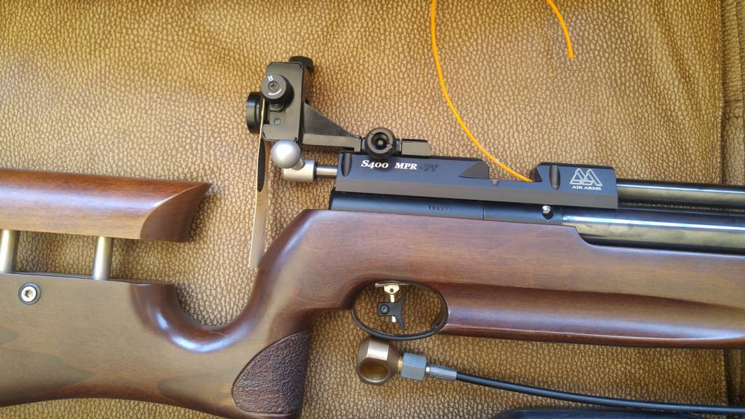 AIR ARMS MPR S400 FT COMPETITION AIR RIFLE | Junk Mail