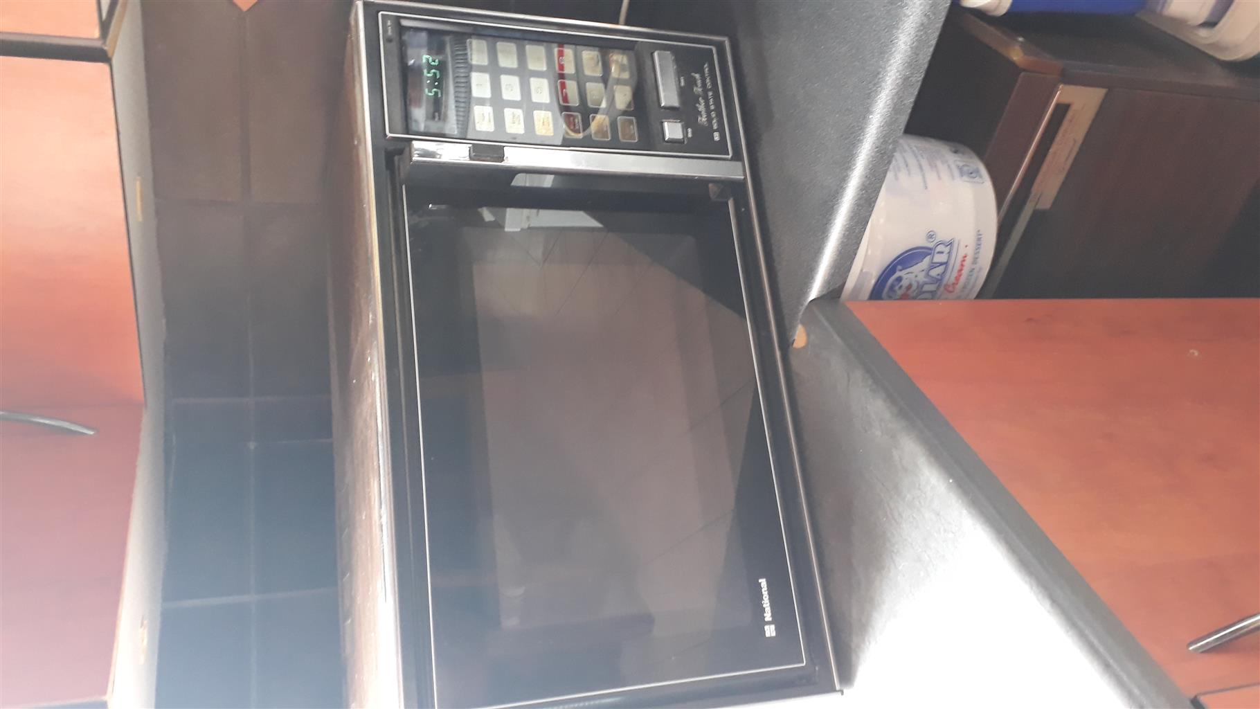 repair and service of microwaves