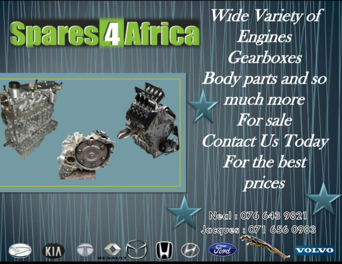 At Spares4Africa we are currently stripping A wide Variety of