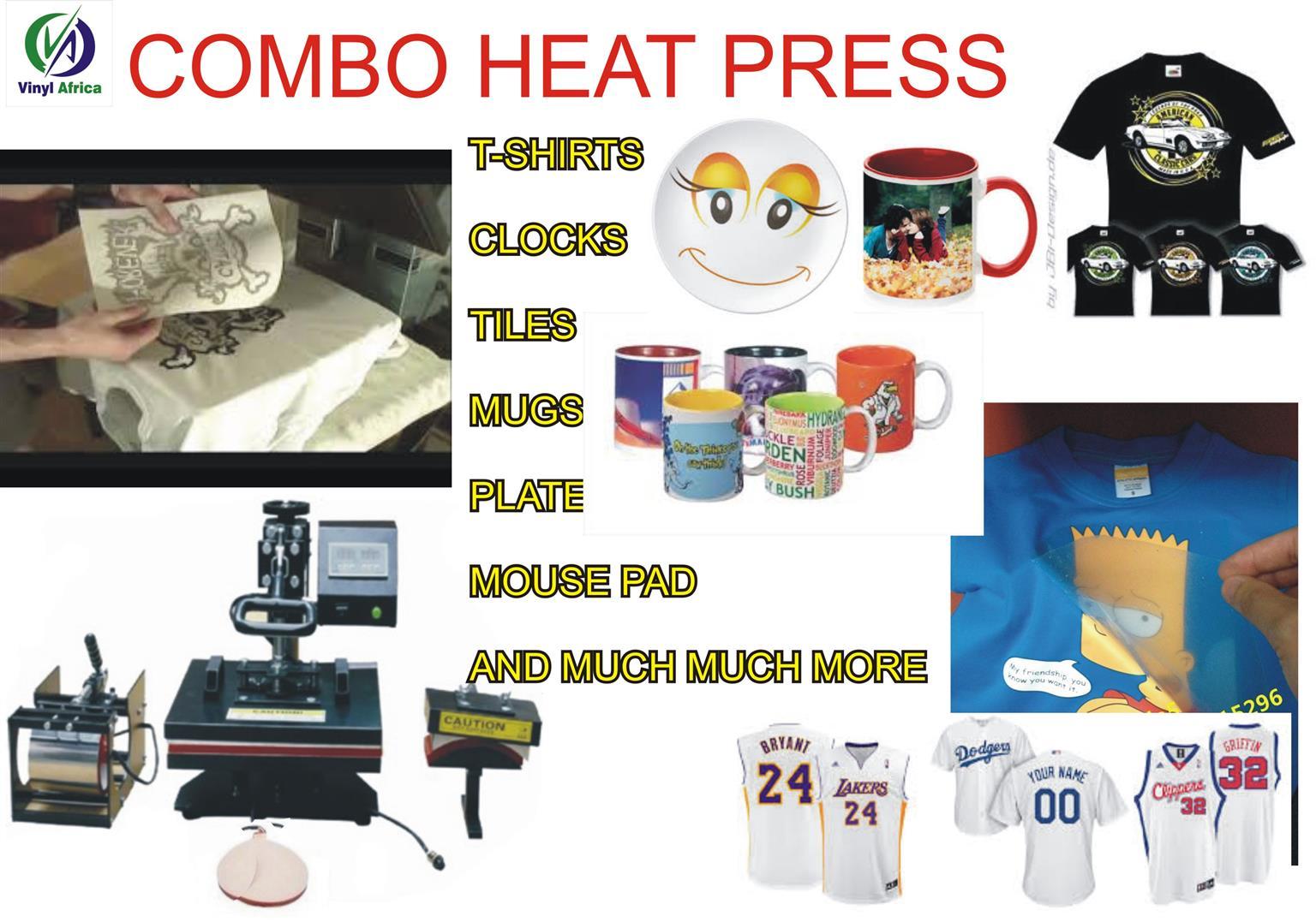 COMBO HEAT PRESS.