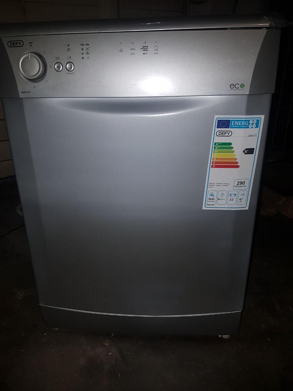 Defy Eco Friendly Grey Dishwasher