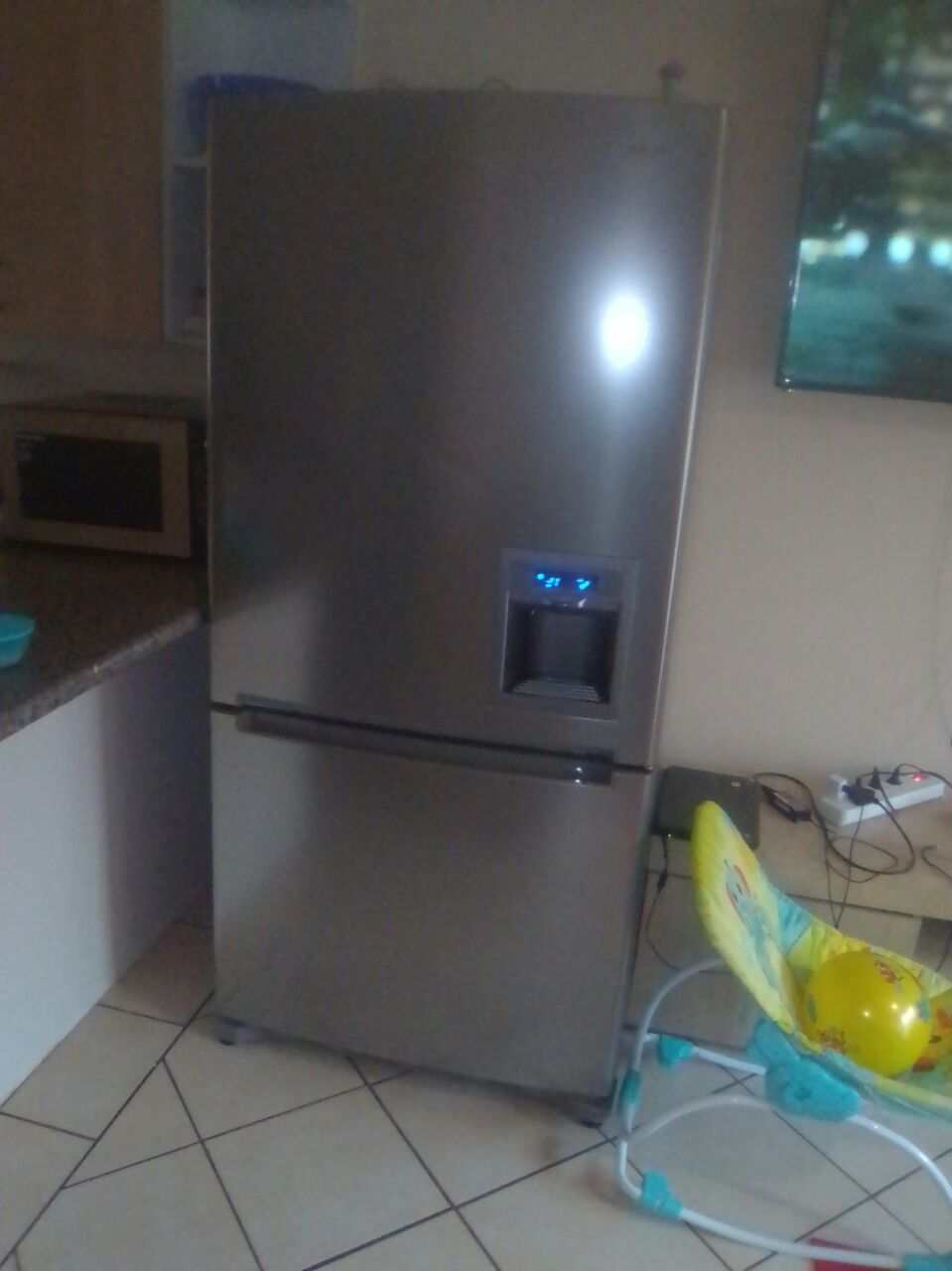 Two Fridges (Big Samsung and Small Hisense) all for just R14000 (Reduced). (Big Samsung is worth R29000).