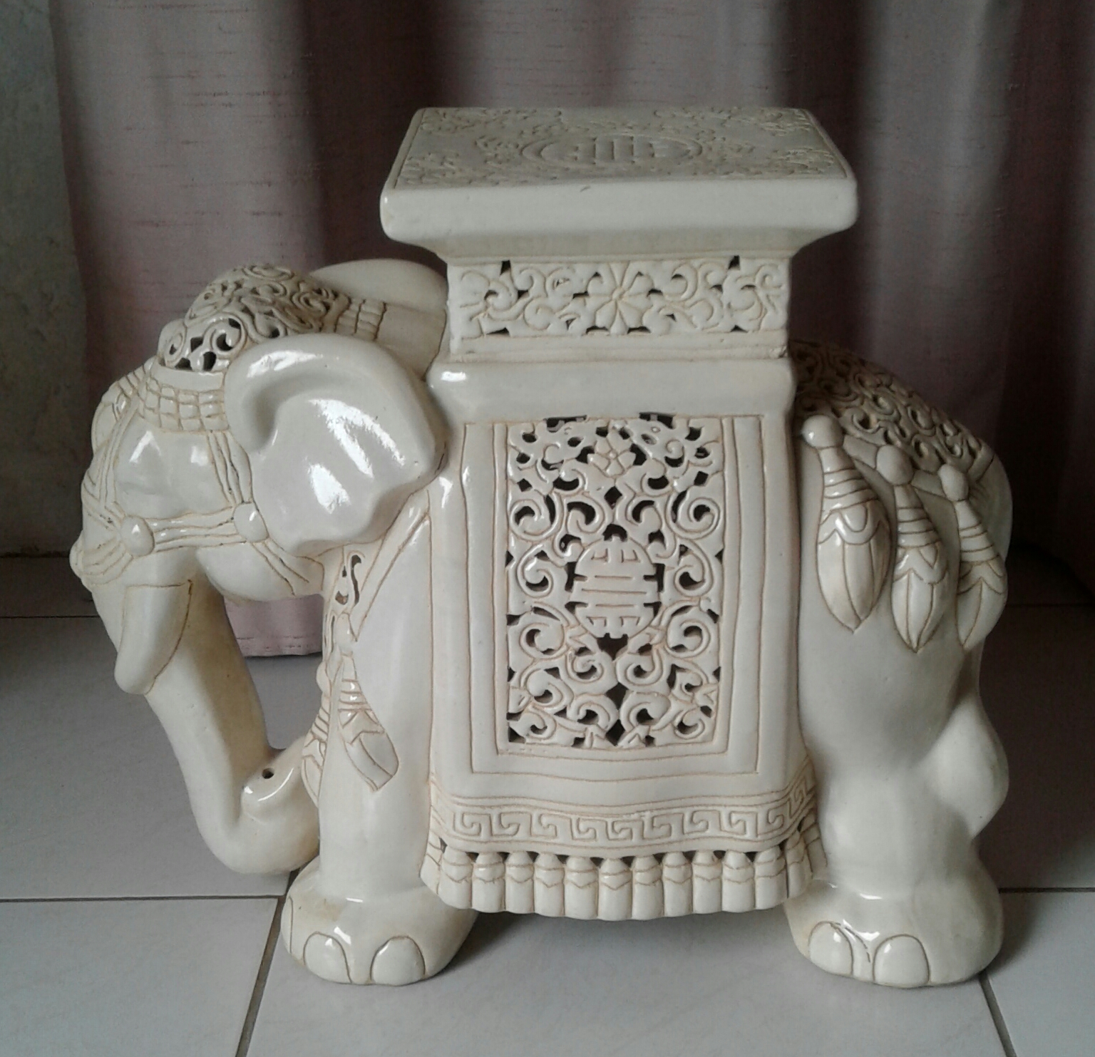 Beautiful ceramic elephant