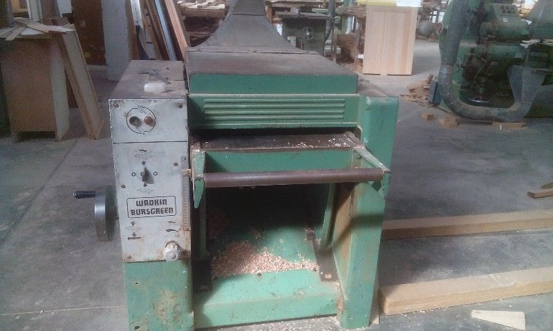 Woodworking Machinery Wadkin Thicknessor 500 Junk Mail