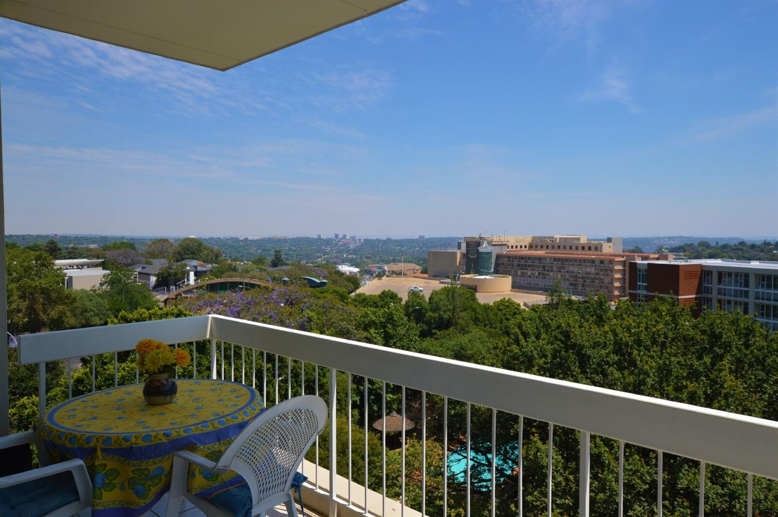 This apartment has it all = Location + View + Space + Security + Great Price!