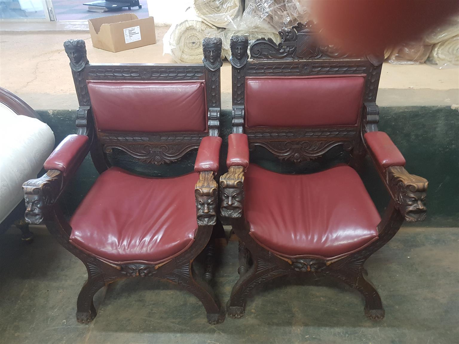 Antique King & Queen Chairs - Antique King & Queen Chairs Junk Mail