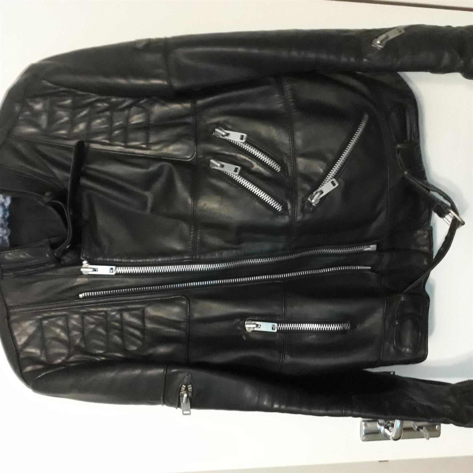 Hein Gericke leather bike jacket