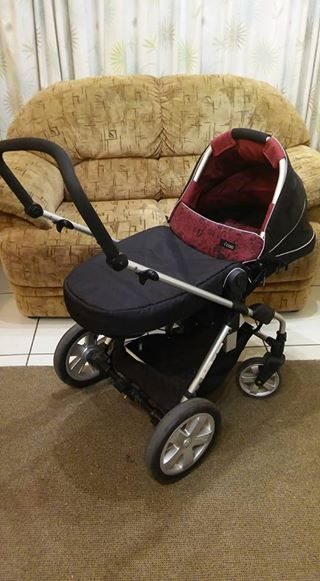 Hauck I'coo 3-in-1 stroller