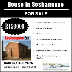 House in Soshanguve