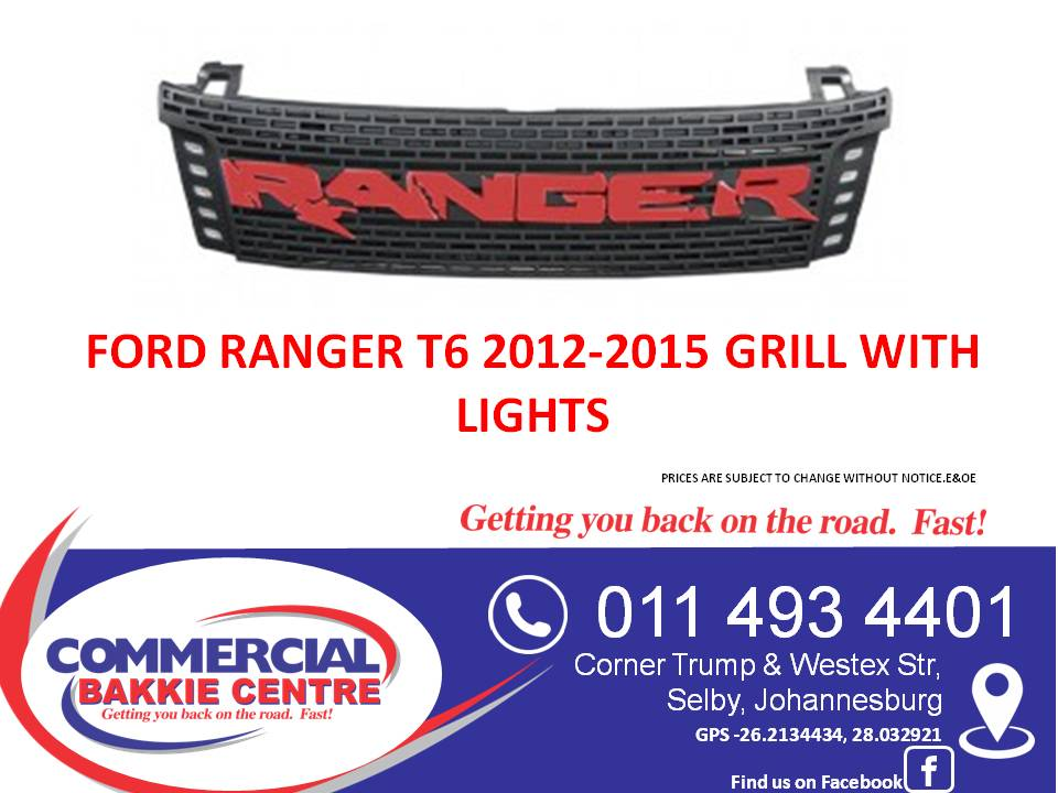 ranger 2012-2015 grill with lights
