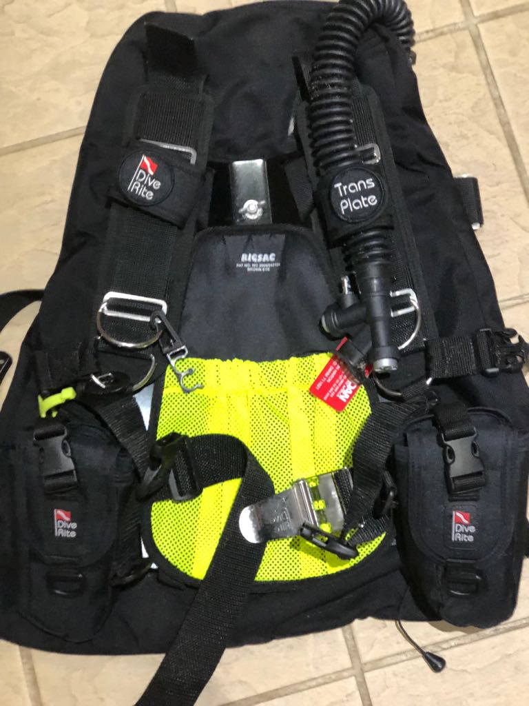 As new diving gear