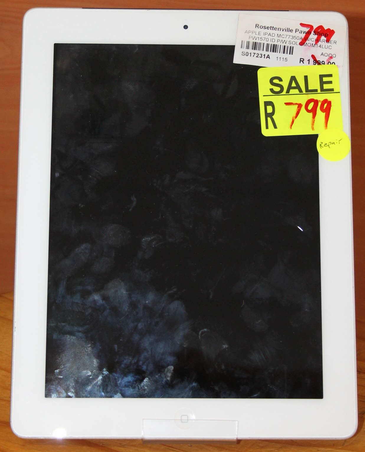 Apple ipad S017231a #Rosettenvillepawnshop