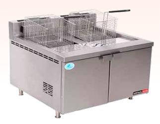 DEEP FAT FRYER GAS - DOUBLE PAN - FFA4120