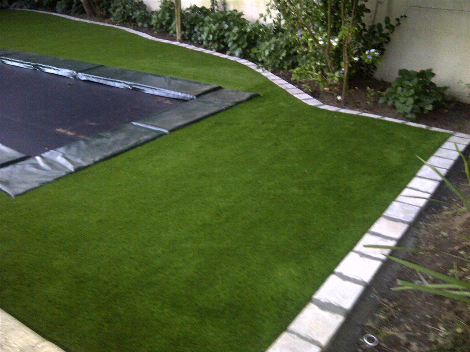 SAVE WATER GET ATIFICIAL GRASS AND HALF BRICK PAVING