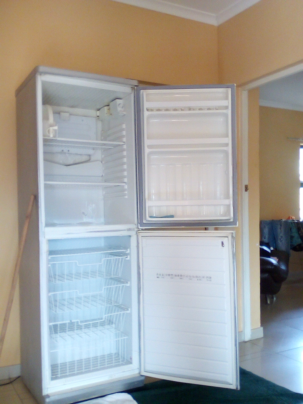 Defy 2 door fridge