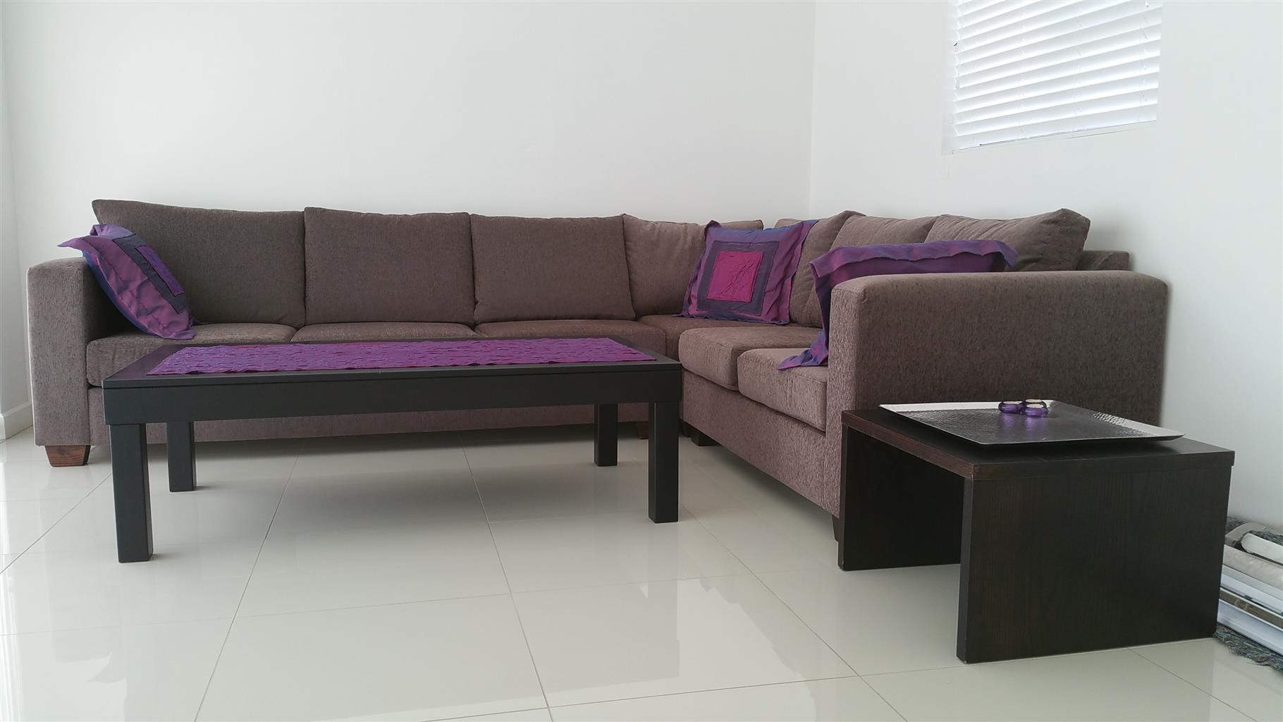 L shaped couches for sale gumtree durbanshowroom open for Couches and sofas for sale in durban
