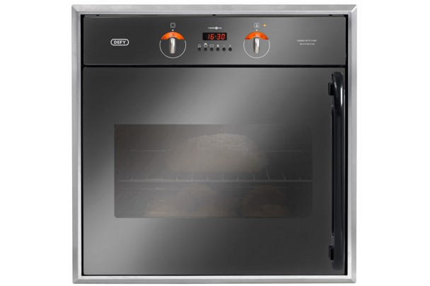 DEFY PETIT CHEF MULTIFUNCTION EYE LEVEL OVEN STAINLESS STEEL. Model DBO431. Brand new, not used, shopsoiled