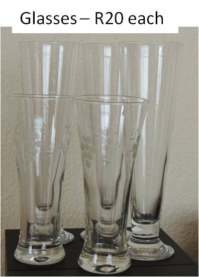 Tall glasses for sale