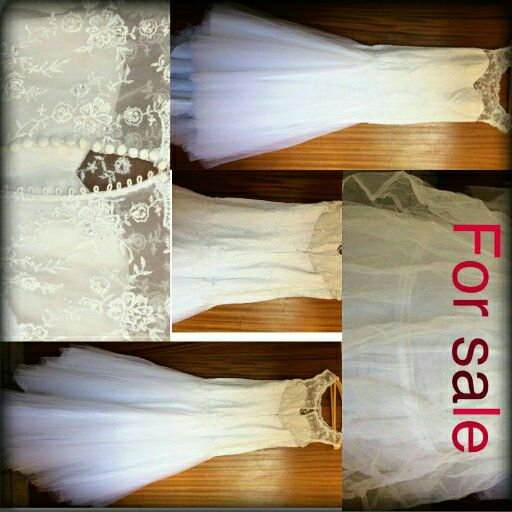 Wedding dress 34-36