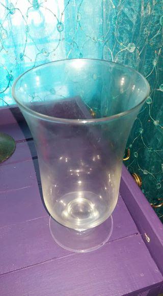 Glass vase for sale