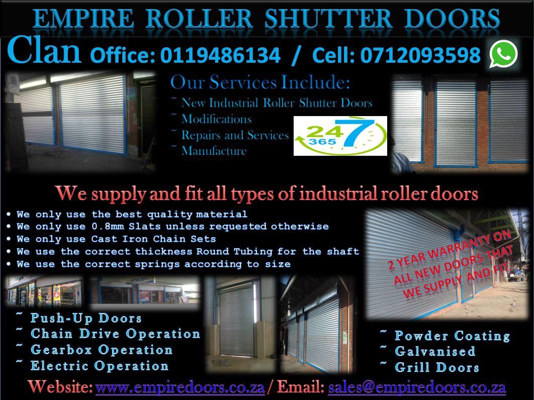 EMPIRE  ROLLER  SHUTTER  DOORS