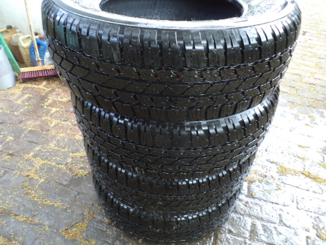 Bridgestone Dueller 17 inch tyres
