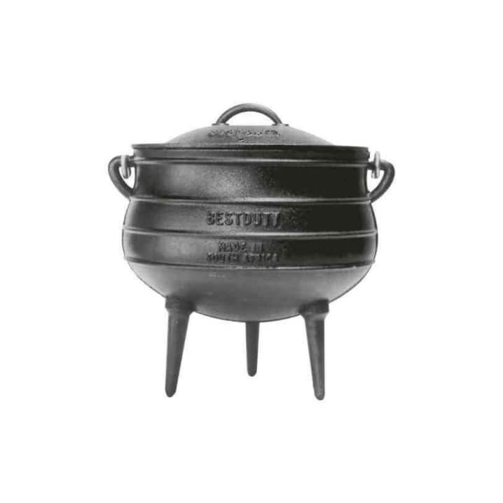 Three legged potjie pots