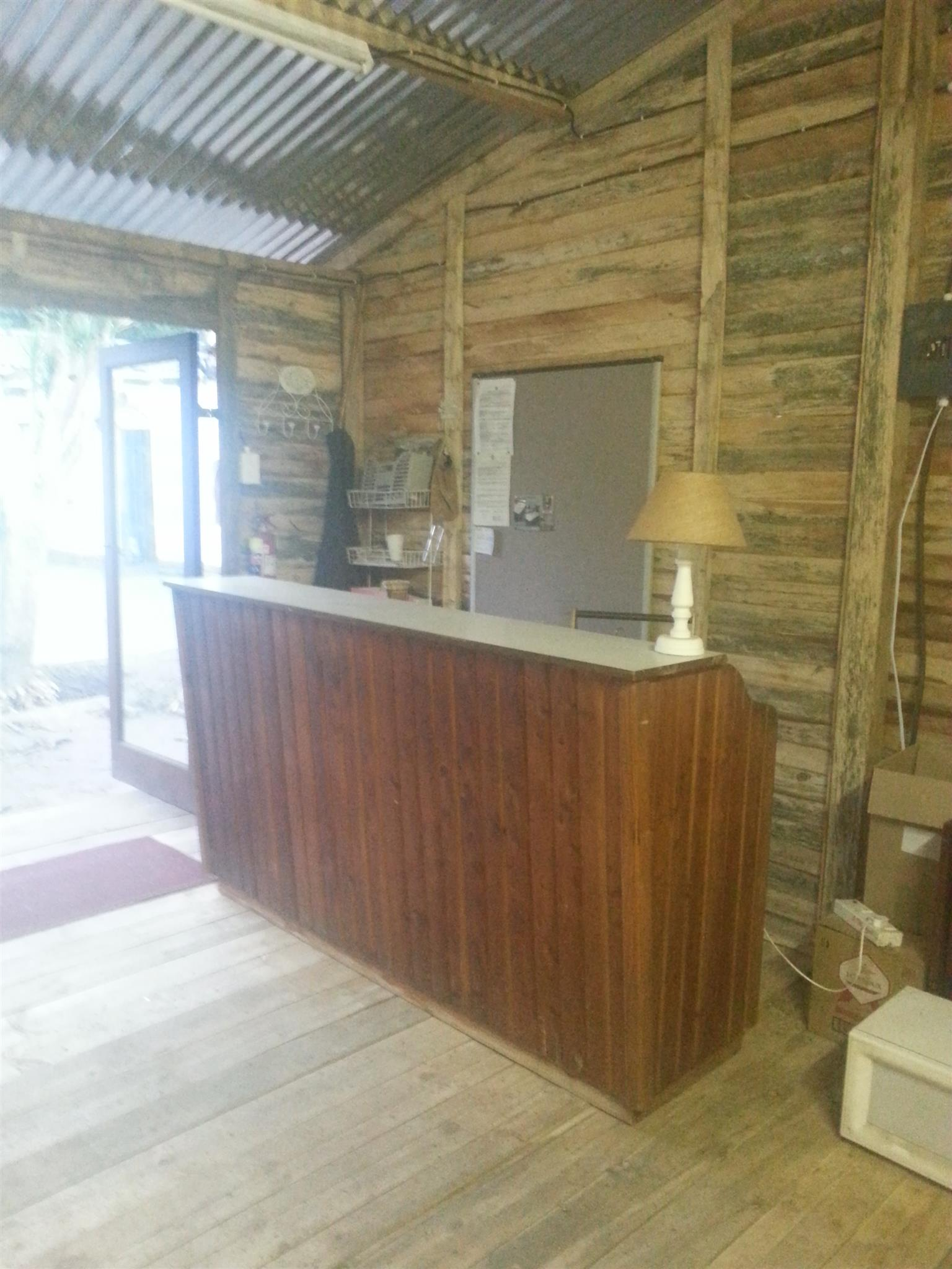 Massive Bar / Shop Counter - Lots of storage space inside
