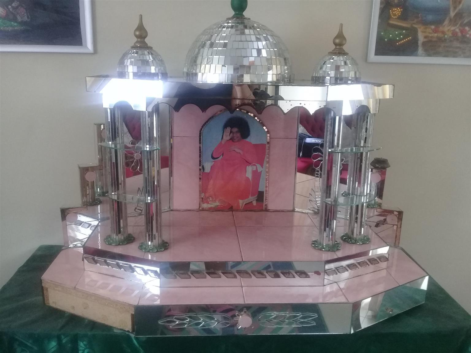 Prayer lamp stand