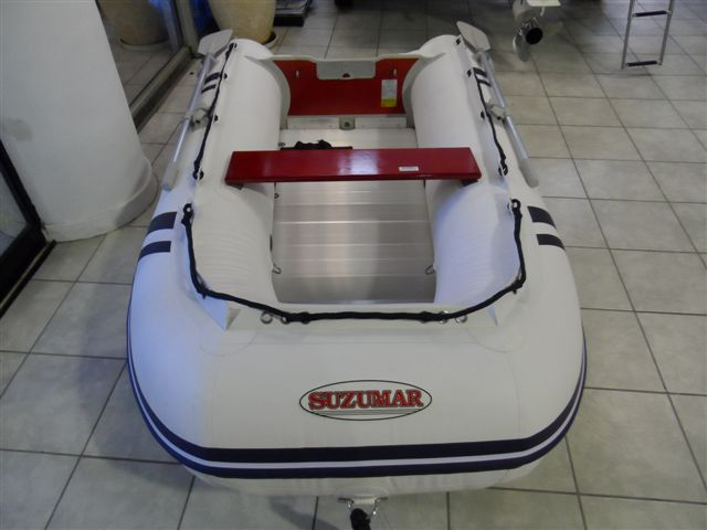 suzumar inflatable boat and motor