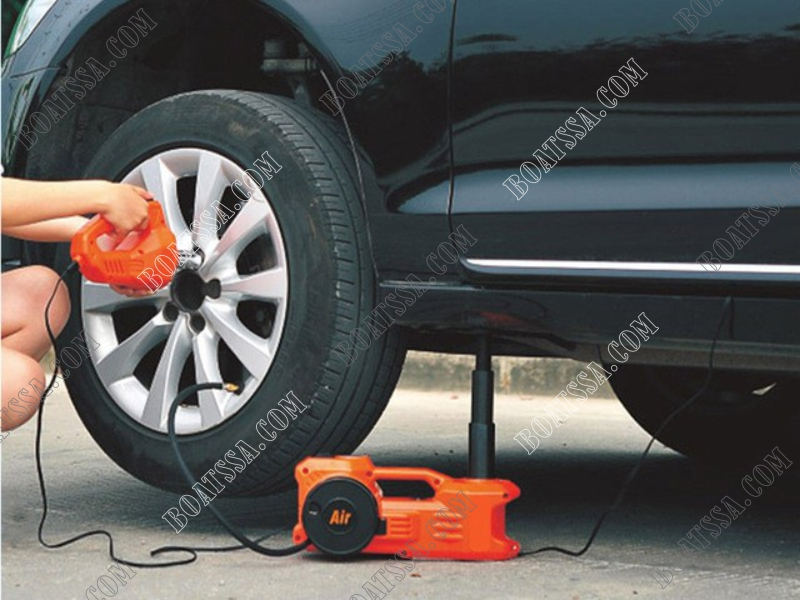 Electric Car Jack With Air Pump And 12v Wrench Junk Mail