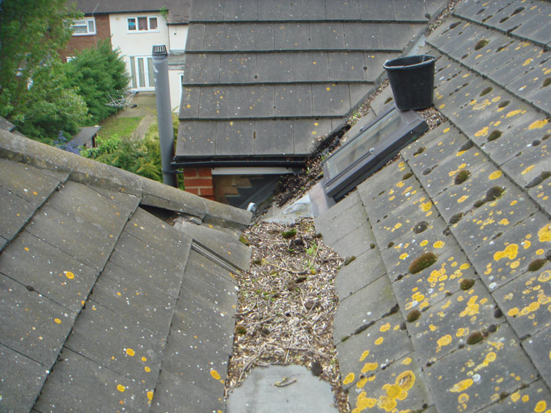 Gutter cleaning  and roof solution blocked damaged sagging leaking 24/7