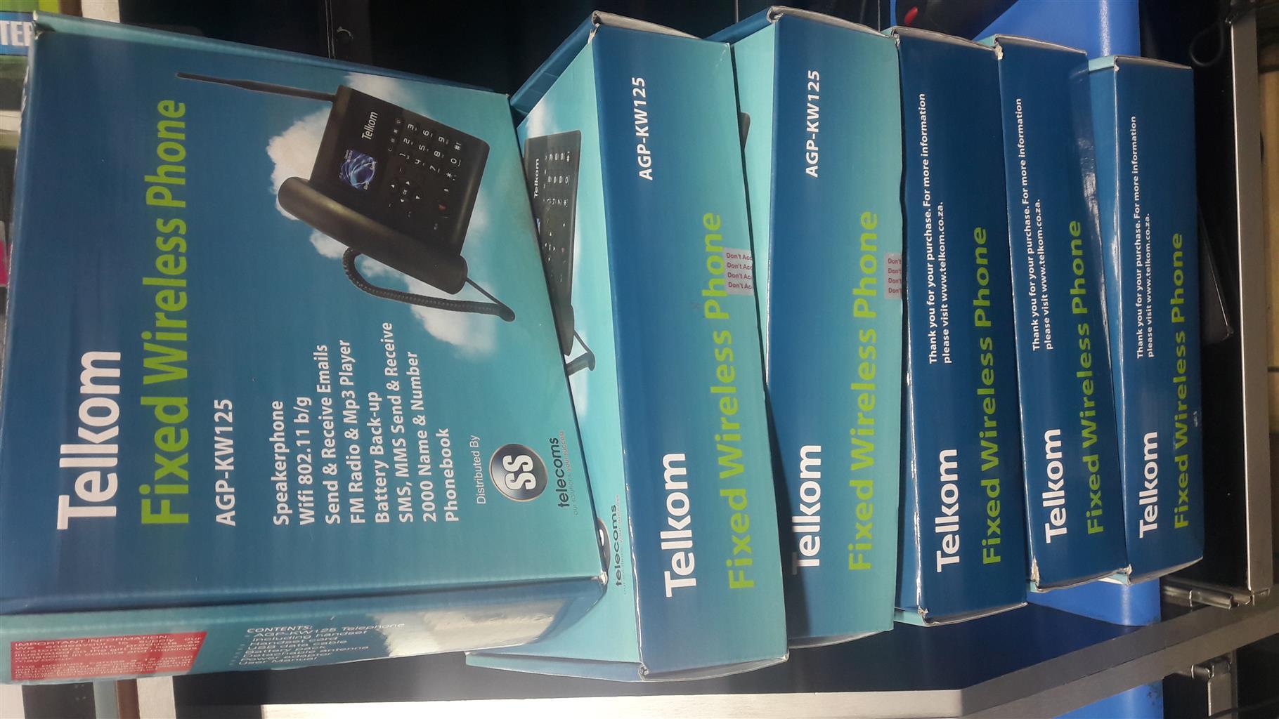 Telkom Fixed Wireless Phone AGP-KW125, With WIFI, Very Very Cheap