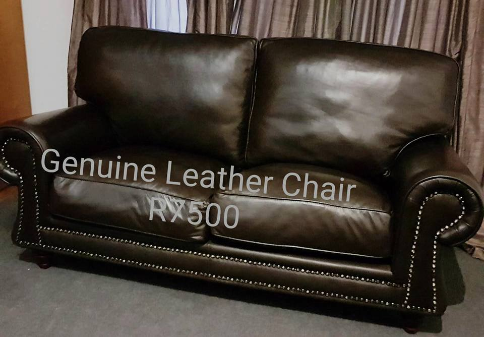 GENUINE LEATHER CHAIR