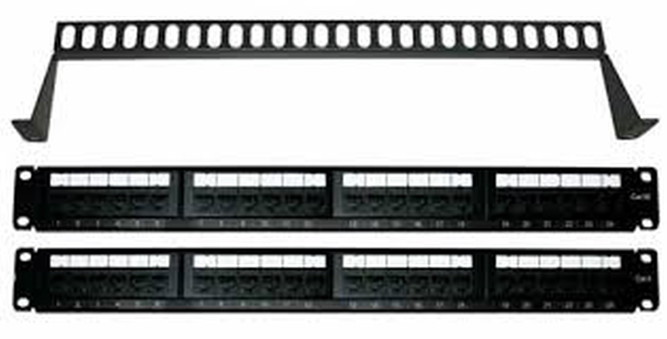 Commscope / Krone / Truenet / TE Cat 6 24 port Patch Panels and other