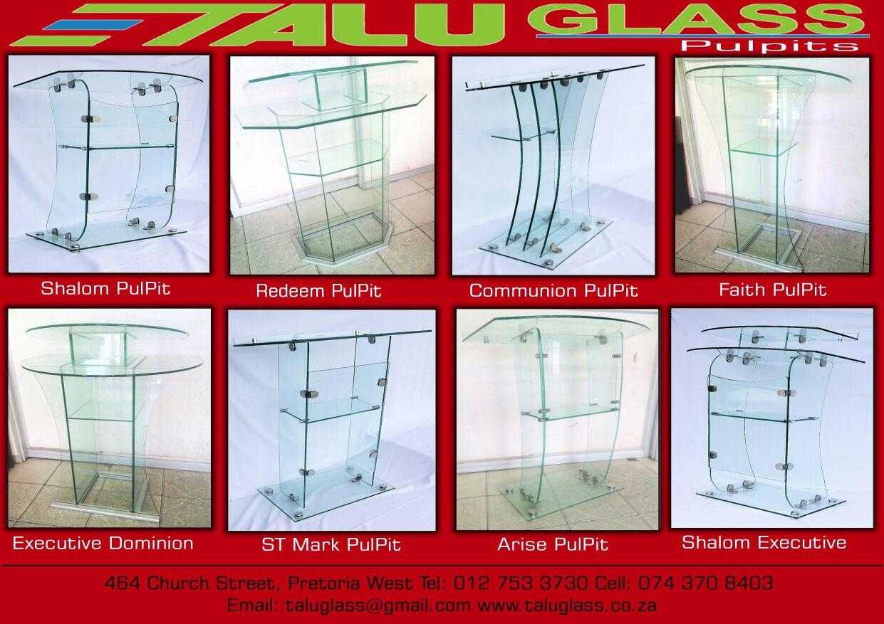 Glass Pulpit,Church Podium