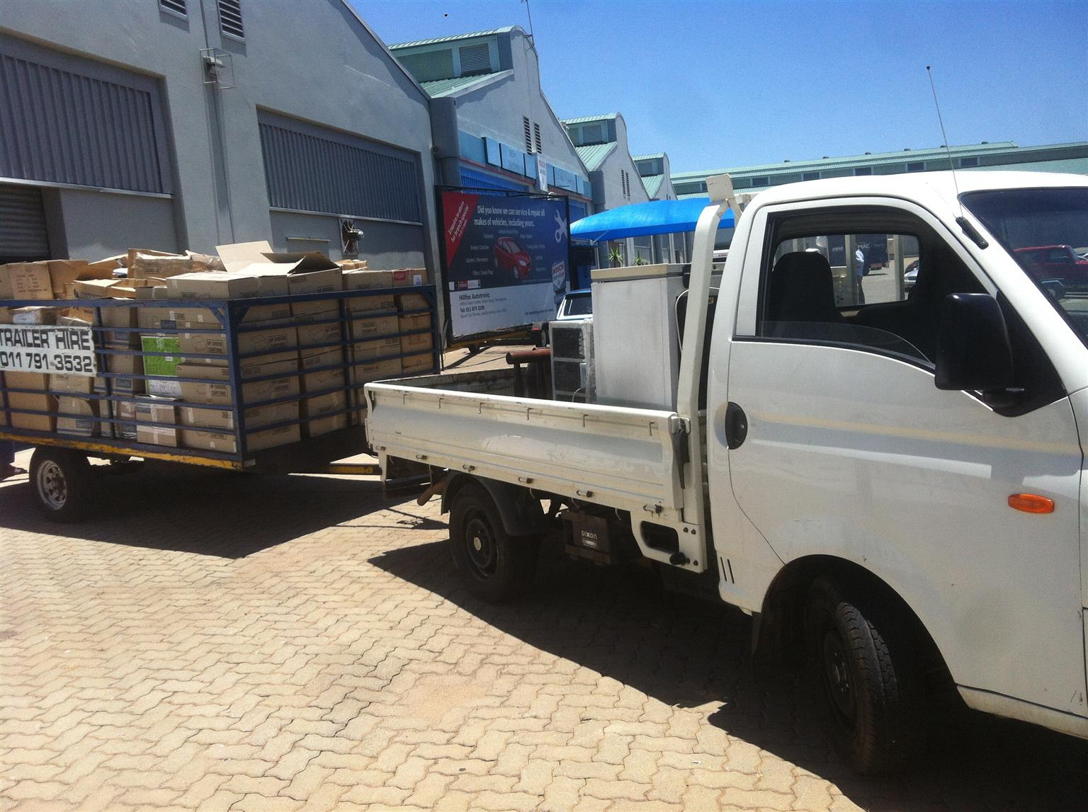 Removals & bakkie for hire 0782442613