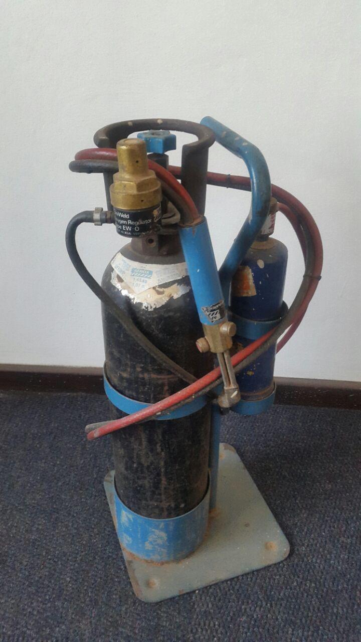 Porta pack oxygen and lpg gas welder/cutter/brazing