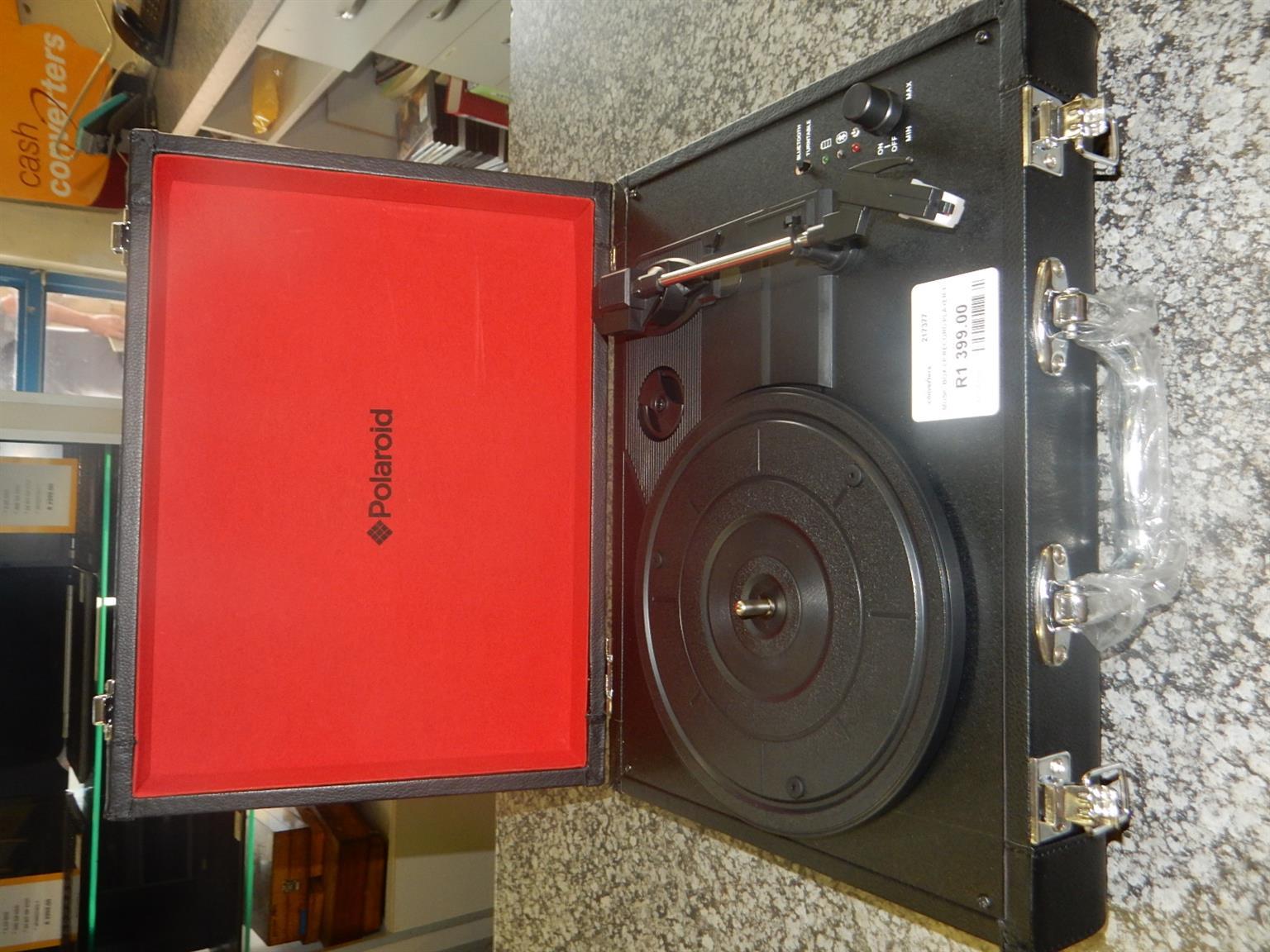 Polaroid LP Record Player Music Box
