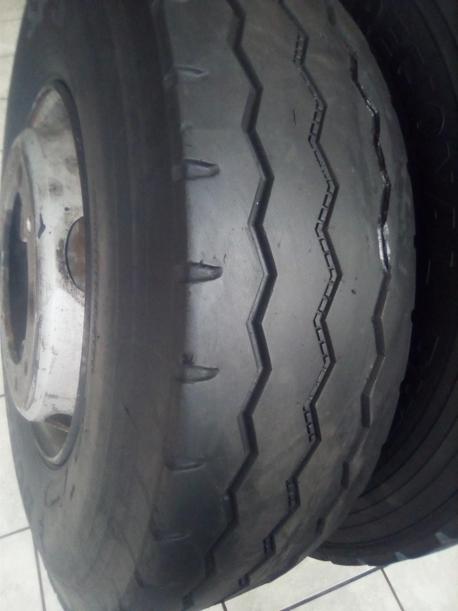 315 and 12R Second Hand Tyres For Sale in Mpumalanga Witbank