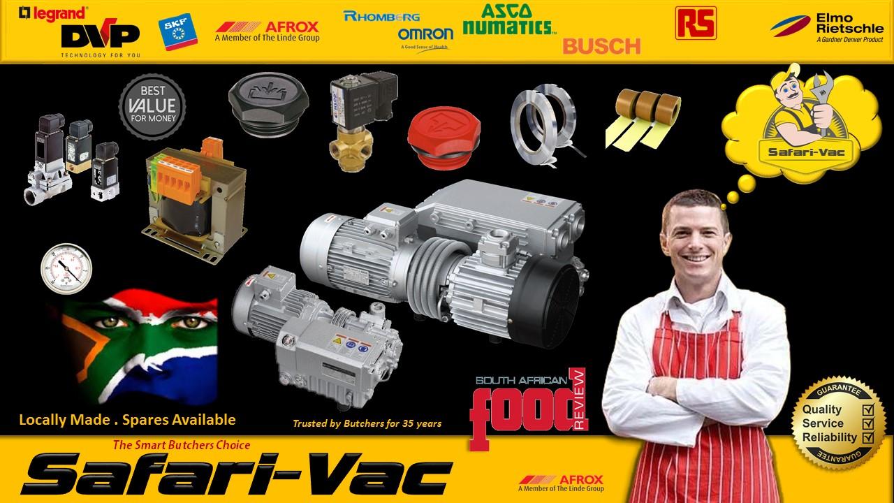 Vacuum Pack Repairs Henkovac,Orved,DZ300/DZ400,Henkelman,Komet,Brother,Vala,Safarivac.