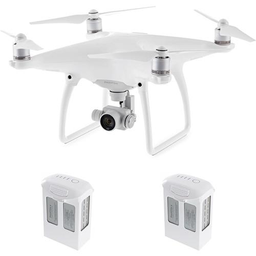 Save Big On DJI Phantom 4 Pro Quadcopter With 2 Extra Batteries