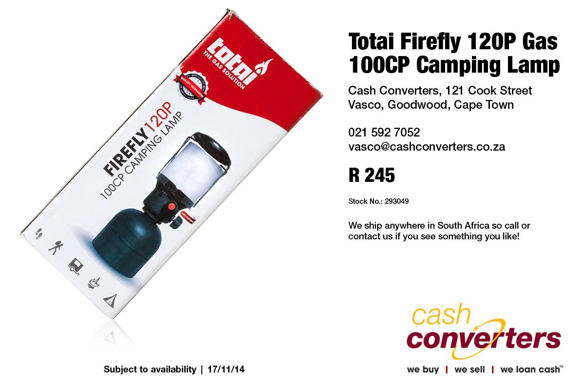 Totai Firefly 120P Gas 100CP Camping Lamp